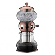 Compacte Dutch Coffee maker brons