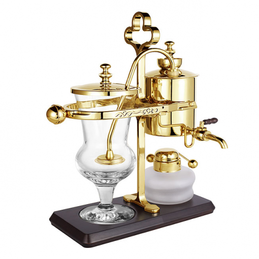 Balancing Syphon Coffee Maker Gold