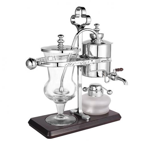 Balancing Syphon Coffee Maker Silver