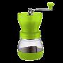 Tiamo Handkoffiemolen Grinder Groen