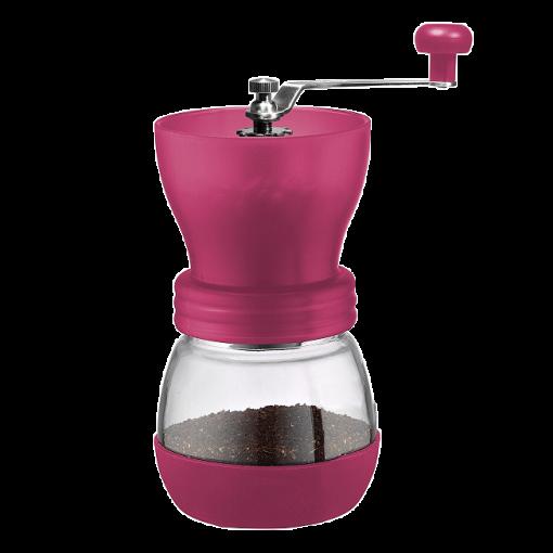 Tiamo Handkoffiemolen Grinder Rood